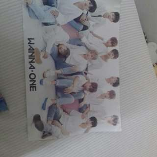Wanna one unofficial poster.