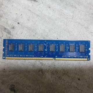 DDR3 2GB PC3-10600 1333MHz UDIMM Desktop RAM
