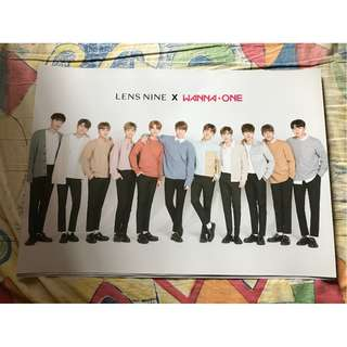 lensnine wanna one 團體海報