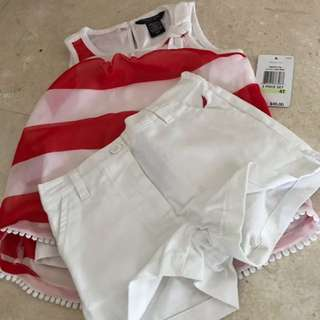 Nautica top/pants set / 4rs old