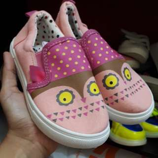Owl slip on shoes