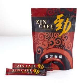勁咖啡ZIN CAFE-靈芝咖啡 高品質即溶咖啡 三合一
