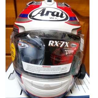 ARAI RX-7X RX7X PEDROSA 26 頂級 GP選手帽