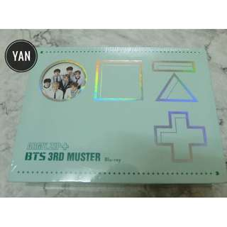 [Ready Stock] BTS - 3rd Muster ARMY.ZIP Blu-ray