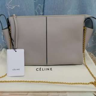 💝情人節精選💖Celine tri fold clutch on chain bag