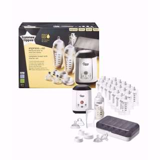 Tommee Tippee Express & Go Complete Breast Milk Starter Set