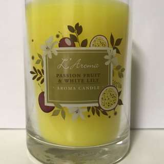 Passion Fruit & White Lily - Aroma Candle