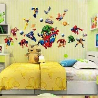Avengers Superhero Wall Decal Sticker