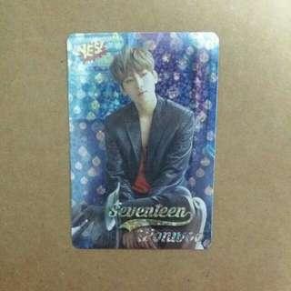 《Yes》29th yescard - SEVENTEEN Wonwoo 閃 #2978(S)