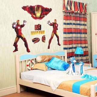 Ironman Superhero Wall Decal Sticker