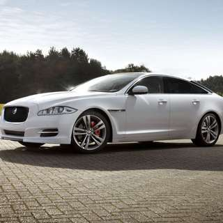 Jaguar XJ Wedding Services