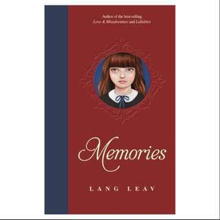 Memories by Lang Leav Hardback