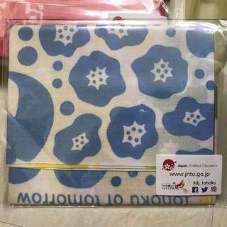 日本東北地區復興活動用棉花制作的布手巾