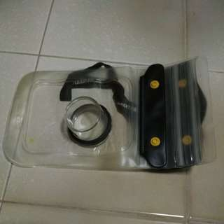 Compact cam water resistance bag