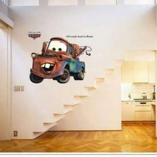 Mater Cars Wall Decal Sticker