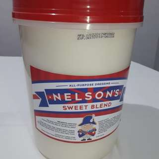 Nelson's All Purpose Dressing & Mayonnaise Replacement in 3.5L Tubs