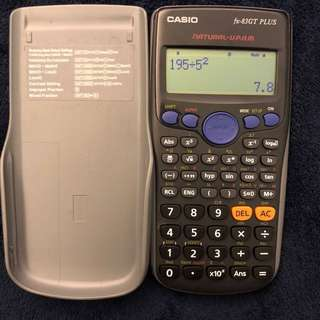 Calculator fx-83GT plus