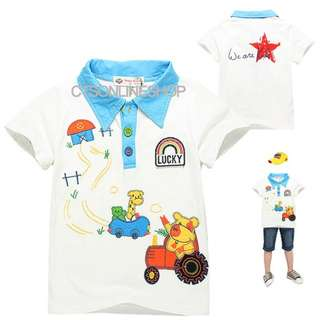 [Buy 3 for $10] Boys Graphic T-shirt/ Boys Clothing WY63012B