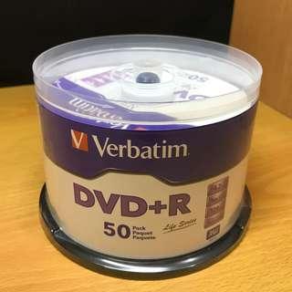 空白DVD+R 50隻