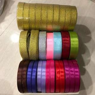 20 meters ribbon 1cm, 2cm