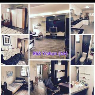 4A Conner beautiful HDB for rent