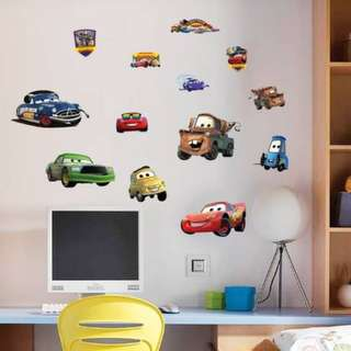 Cars Wall Decal Sticker