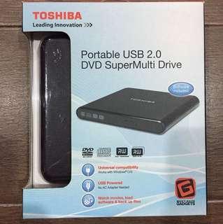 Toshiba Portable USB DVD SuperMulti Drive