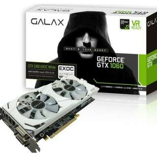 Galax GTX 1060 6GB White Overclocked