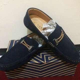 Slip On Shoes Navy