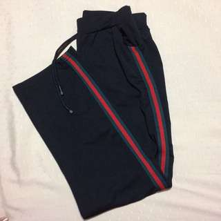 Gucci-inspired Track pants