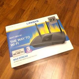 BNIB Linksys Maxstream AC-1900 MU MIMO Gigabit Router EA7500-AHv2
