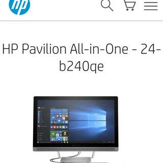 HP Pavillion All in One