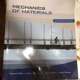 Mechanics Of Materials (5th Edition)