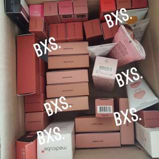 Sealed Instock stylenanda 3ce / the face shop tfs thefaceshop hoodie Ryan collection / Hera lip gloss MLBB / mood recipe collection blusher / handcream hand cream / Velvet lip tint