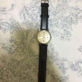 Pre-loved ESPRIT leather watch