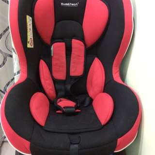 Sweet Heart car seat (cs898-red) 0129023133