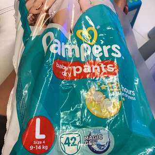 Pampers Baby dry pants made in Japan (38-39 pcs)