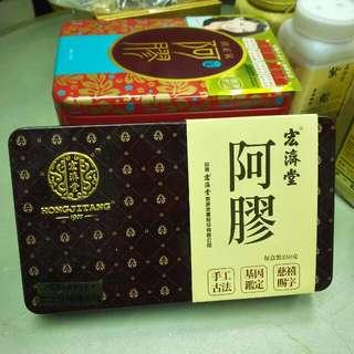 扶正氣阿膠系列 宏濟堂阿膠磚 每盒250克