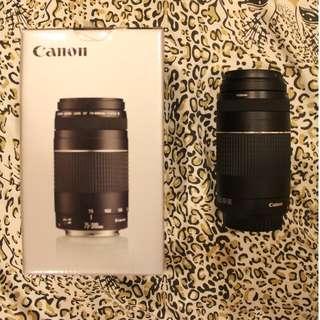 Canon telephoto zoom lens 75-300mm