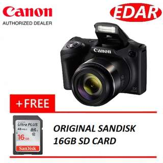 CANON POWERSHOT SX430 IS (FREE SHIPPING) (ORIGINAL SET & OFFICIAL CANON)
