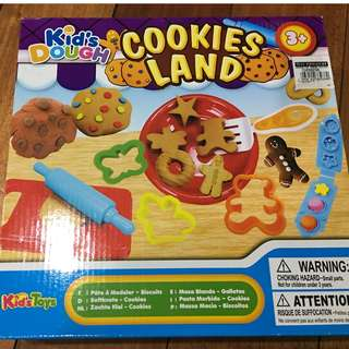kids dough cookie land