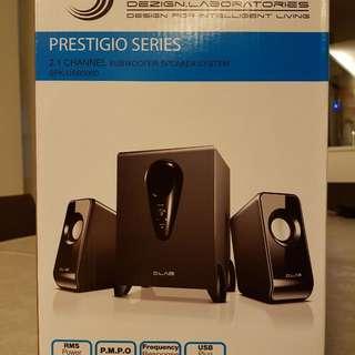 Dlab subwoofer speaker system