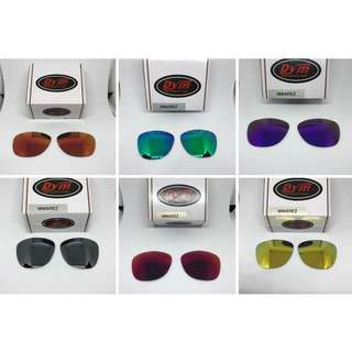 Frogskins POLARIZED Dym Replacement Lenses for Oakley Frogskins Sunglasses