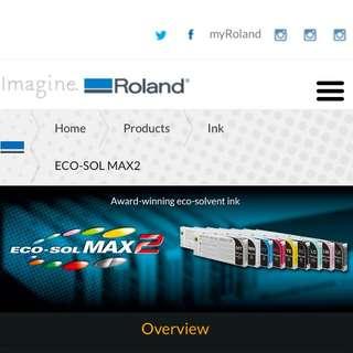 Roland Eco Sol Max 2