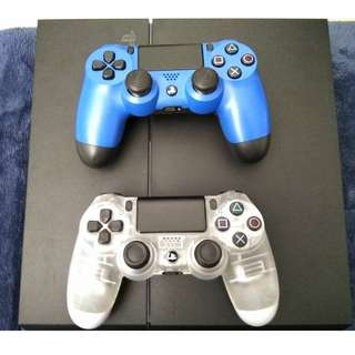 Ds4 blue and White Crystal
