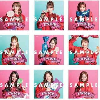 Candy Pop Once Japan Limited Edition Jacket Covers