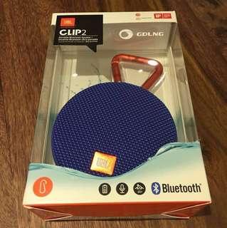 (BNIB) Waterproof CLIP2 JBL speakers