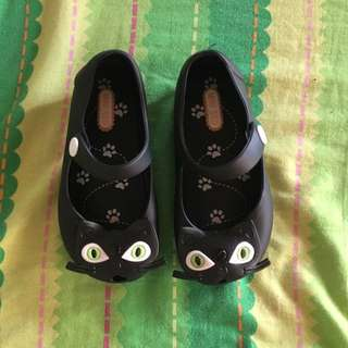 Minised Cat Jelly Shoes