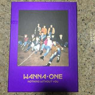 wts wannaone unsealed album