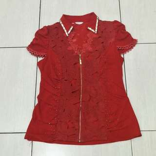 BLOUSE RED HQ